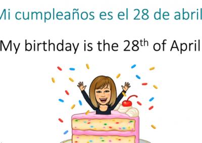 Cumpleaños (Birthdays)